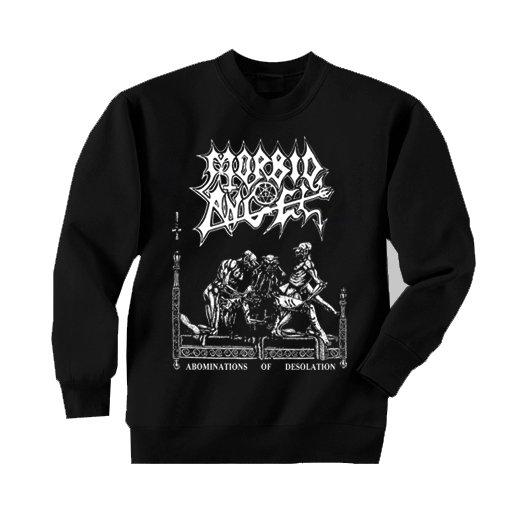 Morbid Angel / モービッド・エンジェル - Abominations Of Desolation. トレーナー【お取寄せ】