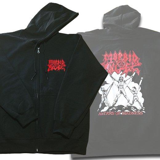 Morbid Angel / モービッド・エンジェル - Altars Of Madness. ジップアップパーカー【お取寄せ】