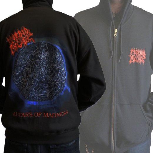 Morbid Angel / モービッド・エンジェル - Altars Of Madness Album Cover. ジップアップパーカー【お取寄せ】