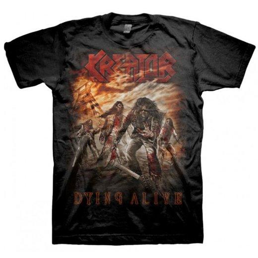 Kreator / クリエイター - Dying Alive. Tシャツ【お取寄せ】