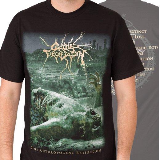 Cattle Decapitation / キャトル・ディキャピテイション - Anthropocene Extinction. Tシャツ【お取寄せ】
