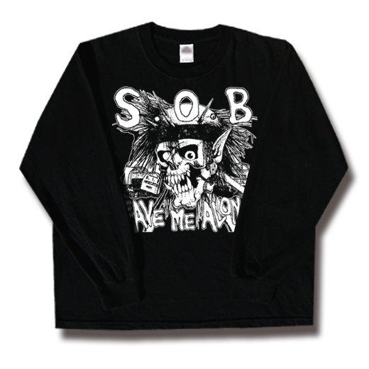 S.O.B. / エス・オー・ビー - Leave Me Alone. ロングスリーブTシャツ【お取寄せ】