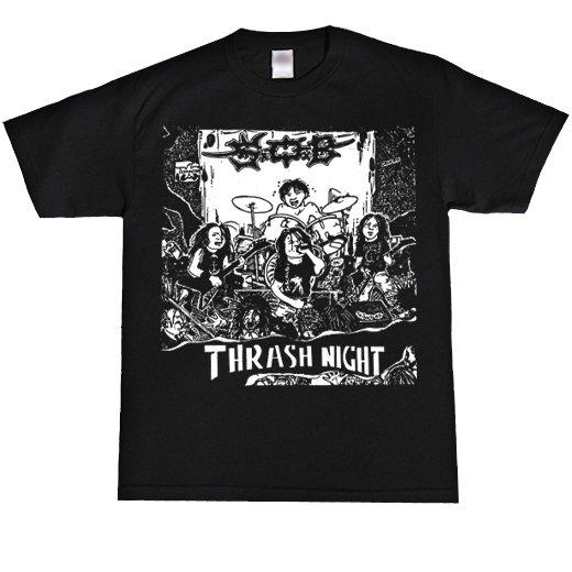 S.O.B. / エス・オー・ビー - Thrash Night. Tシャツ【お取寄せ】