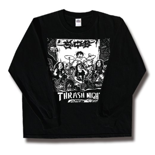 S.O.B. / エス・オー・ビー - Thrash Night. ロングスリーブTシャツ【お取寄せ】