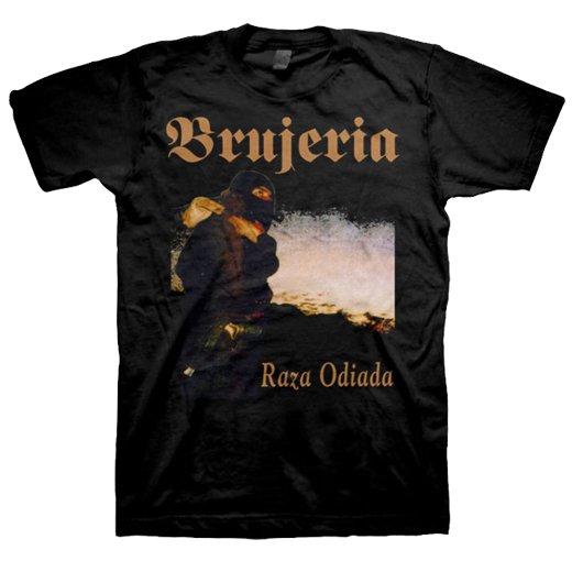 Brujeria / ブルへリア - Raza Odiada. Tシャツ【お取寄せ】