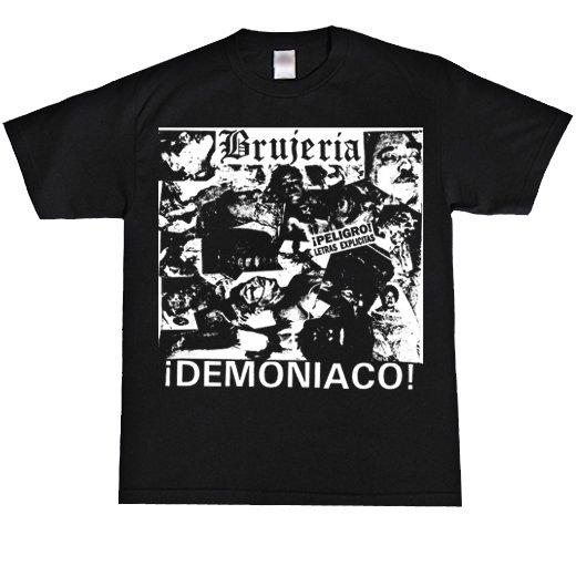Brujeria / ブルへリア - Demoniaco!. Tシャツ【お取寄せ】