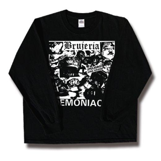 Brujeria / ブルへリア - Demoniaco!. ロングスリーブTシャツ【お取寄せ】