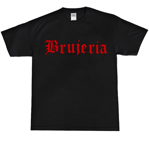 Brujeria / ブルへリア - Logo. Tシャツ【お取寄せ】