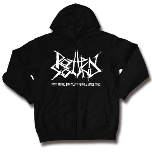 Rotten Sound / ロットン・サウンド - Fast Music. ジップアップ パーカー【お取寄せ】