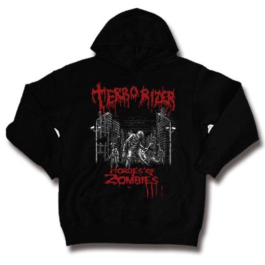 Terrorizer / テロライザー - Hordes of zombies. パーカー【お取寄せ】