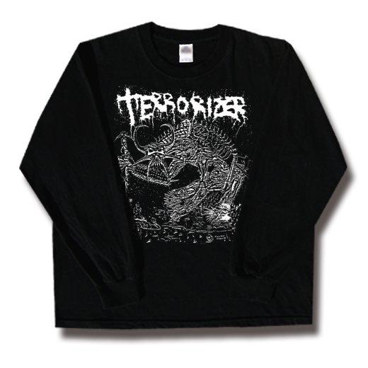 Terrorizer / テロライザー - 1987. ロングスリーブTシャツ【お取寄せ】