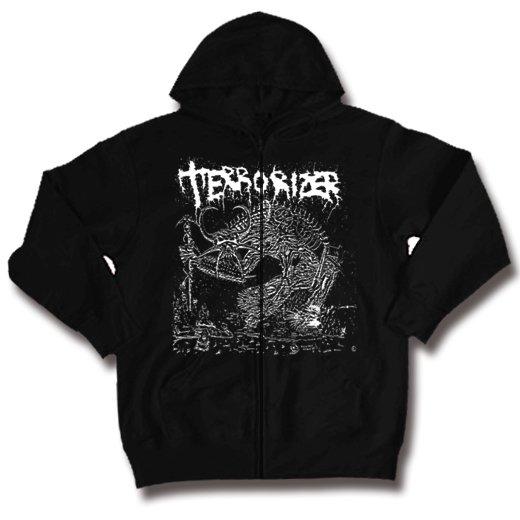 Terrorizer / テロライザー - 1987. ジップアップパーカー【お取寄せ】