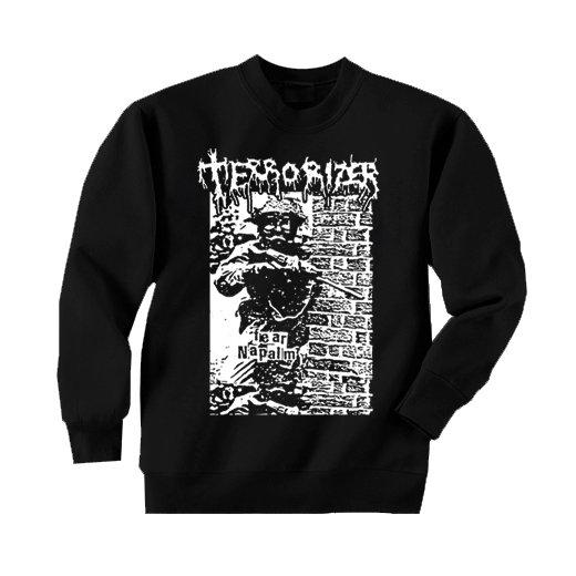 Terrorizer / テロライザー - Fear Napalm. トレーナー【お取寄せ】