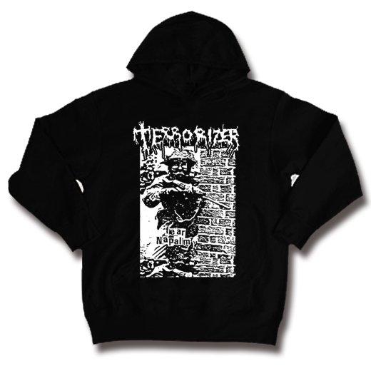 Terrorizer / テロライザー - Fear Napalm. パーカー【お取寄せ】
