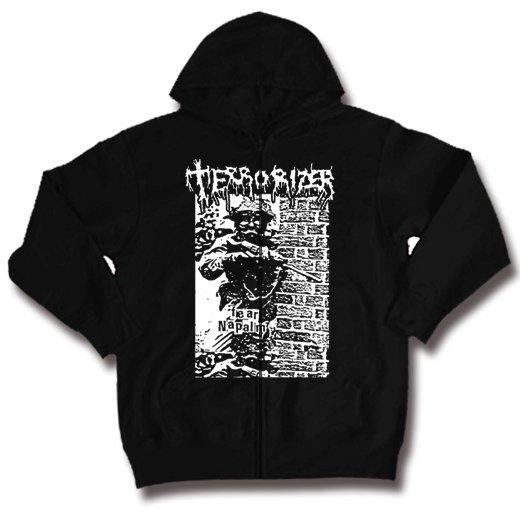 Terrorizer / テロライザー - Fear Napalm. ジップアップパーカー【お取寄せ】