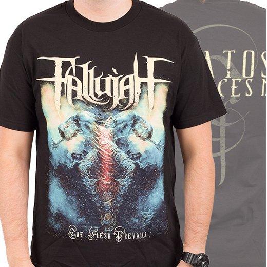 Fallujah / ファルージャ - The Flesh Prevails. Tシャツ【お取寄せ】