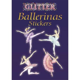 バレエ シール [Glitter Ballerinas Stickers]