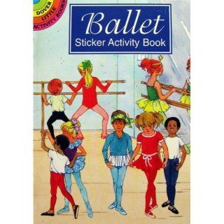 バレエ シール&塗り絵 [Ballet Sticker Activity Book]