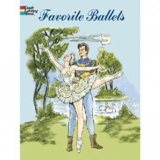 バレエ ぬりえ [Favorite Ballets Coloring Book]