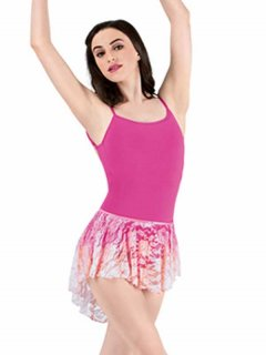 <img class='new_mark_img1' src='//img.shop-pro.jp/img/new/icons14.gif' style='border:none;display:inline;margin:0px;padding:0px;width:auto;' />レーススカート Water colour DANCE WEAR  大人用  バレエ [オレンジピンク]