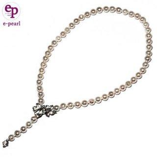 Y字も簡単 あこや真珠8�50�ネックレス マグピタ仕様 フォーマル カジュアル パール