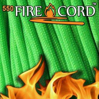 Live Fire Gear 550 Fire Cord セーフティーグリーン