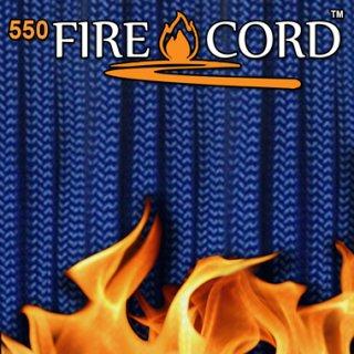 Live Fire Gear 550 Fire Cord ロイヤルブルー