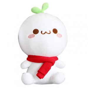 長草くんぬいぐるみ 大サイズ(座姿35cm)
