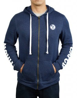 <img class='new_mark_img1' src='//img.shop-pro.jp/img/new/icons1.gif' style='border:none;display:inline;margin:0px;padding:0px;width:auto;' />Catch and Throw Zip Hoodie - Righty (Navy)