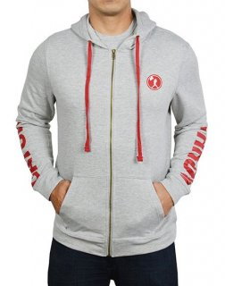 <img class='new_mark_img1' src='//img.shop-pro.jp/img/new/icons1.gif' style='border:none;display:inline;margin:0px;padding:0px;width:auto;' />Catch and Throw Zip Hoodie - Lefty (Grey)