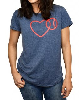 <img class='new_mark_img1' src='//img.shop-pro.jp/img/new/icons1.gif' style='border:none;display:inline;margin:0px;padding:0px;width:auto;' />Love Baseball - Women's Perfect Fit Tee