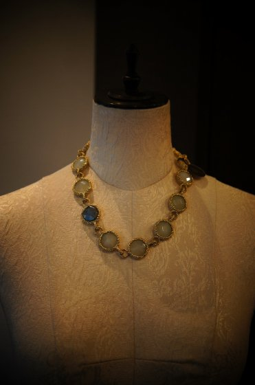 Contamination Necklace(ネックレス)[CL 5470 OTAGLabradrite/NewJade