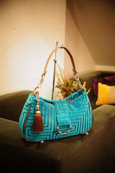 JOJO Saddle HandBag Concept Blue