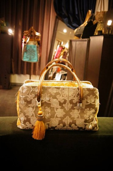 JOJO Rikyu(リキュウ) Handbag Beige/Yellow