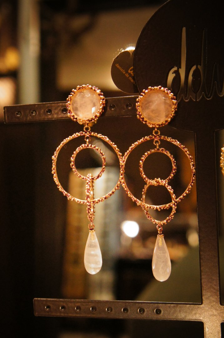 Chandelier Model       Earrings(  イヤリング     )   OR1093 OTVIO Q.Rosa
