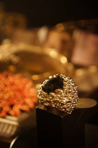 Peacock Ring (リング)[AN59 OTAG Q.Fume