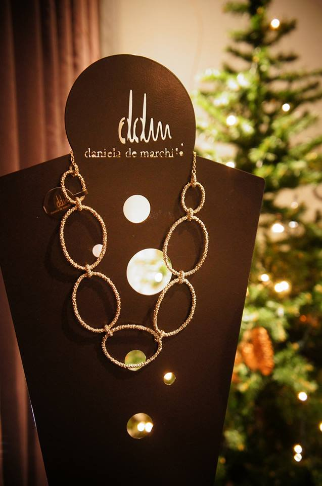 "Daniela de Marchi ""O""Collection Lound Necklace (ネックレス)オーダー商品"