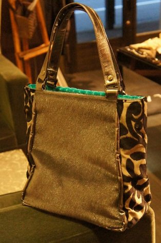 JOJO TRAPE Bag Blue/Grey 1点物