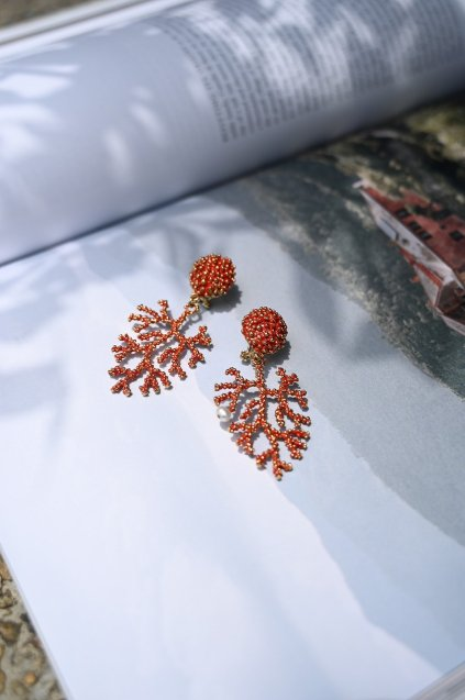 Daniela de Marchi Coral Earrings/Pieces(イヤリング/ピアス)OR1072 OTRO