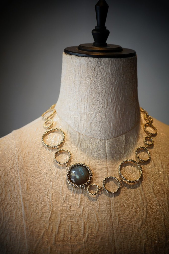 Contamination Necklace(ネックレス)[CL 5465 OTAG Labradrite