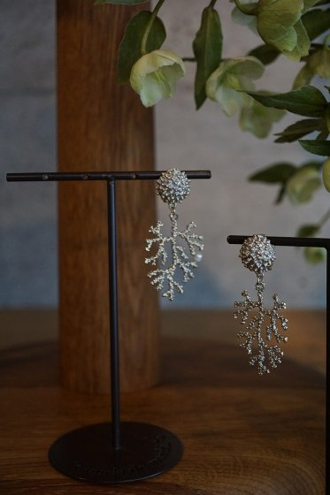Coral Earrings/Pieces(イヤリング)[OR1072 OTAG】