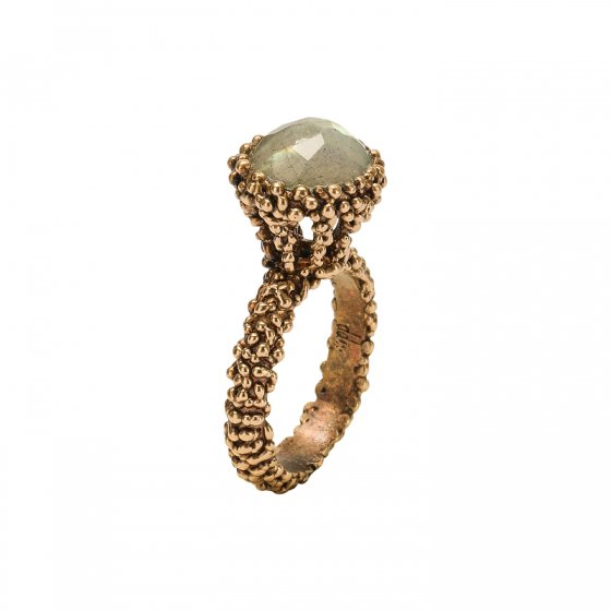 Merry Me Collection Ring(リング)[AN162 OTBR Onixオニキス]SizeS