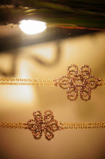 Flower Long Necklace (ネックレス)CL5569 OTVIO  現品限り商品