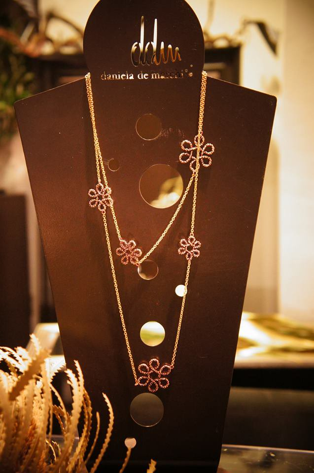 Flower Long Necklace (ネックレス)CL5569 OTVIO  1点物