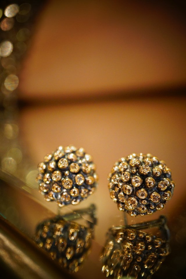 Diamond  Earrings/Pieces (イヤリング/ピアス)[OR1001BRILL BZBR]オーダー 商品