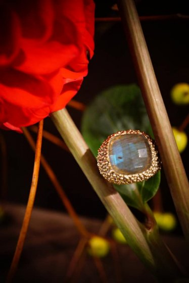 Segreti Ring(リング) AN144 OTAG Labradorite