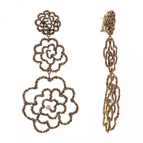 Daniela de Marchi Long Camelia Earrings(イヤリング)OR1076 OTRAPearl