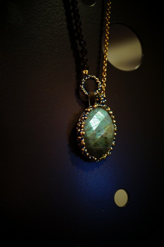 Ricordi Collection Necklace(ネックレス)[CL5496 OMI Labradorite/Smoky.Qオーダー商品