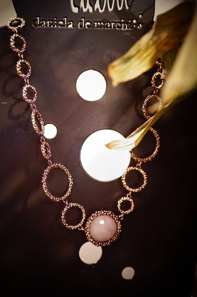 Contamination Necklace(ネックレス)[CL 5465 OTVIO Rosa.Q