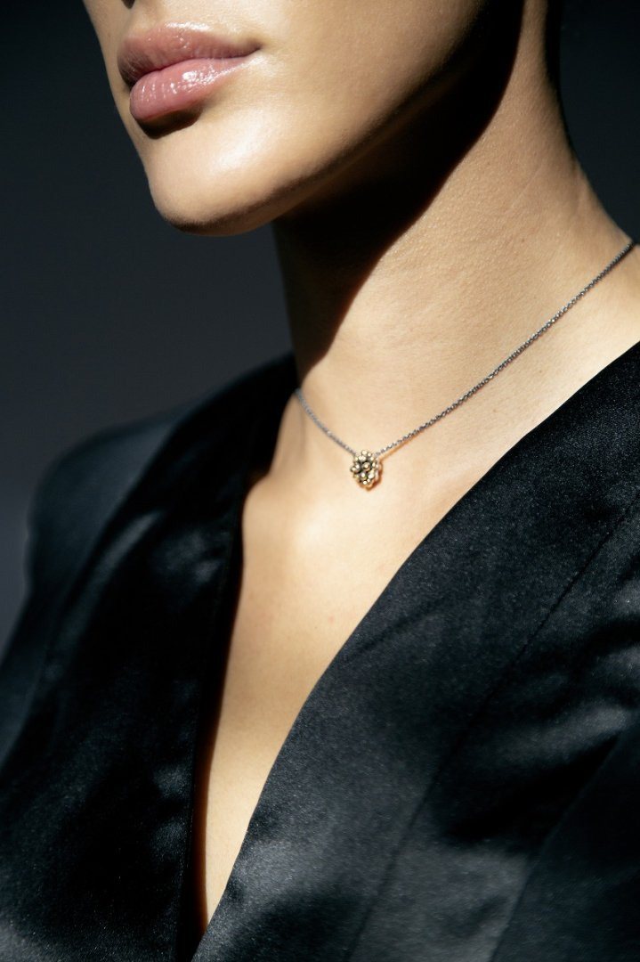 Diamond Pendant Necklace (ネックレス)[CL2907 AGBR]